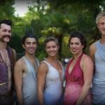 Ad Mortem cast: (L to R) Charles Darius, Ryan Hazelbaker, Neva Cockrell, Andi Hemmenway, Raphael Sacks