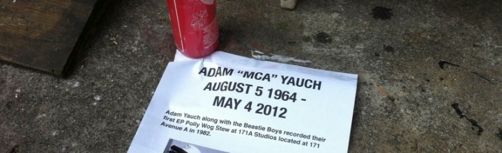 """Adam Yauch, a.k.a. MCA, was an Artmonk; Beastie Boys' """"Bodhisattva Vow"""""""