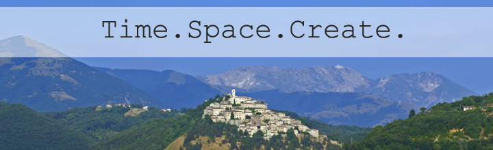 Time. Space. Create. Writing Workshop with Justen Ahren at Art Monastery Italia