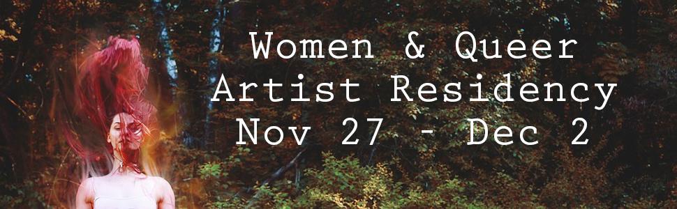 Women & Queer Artist Residency